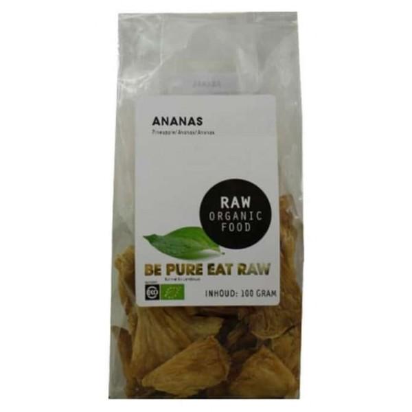 Ananas raw bio 100g SMAAK