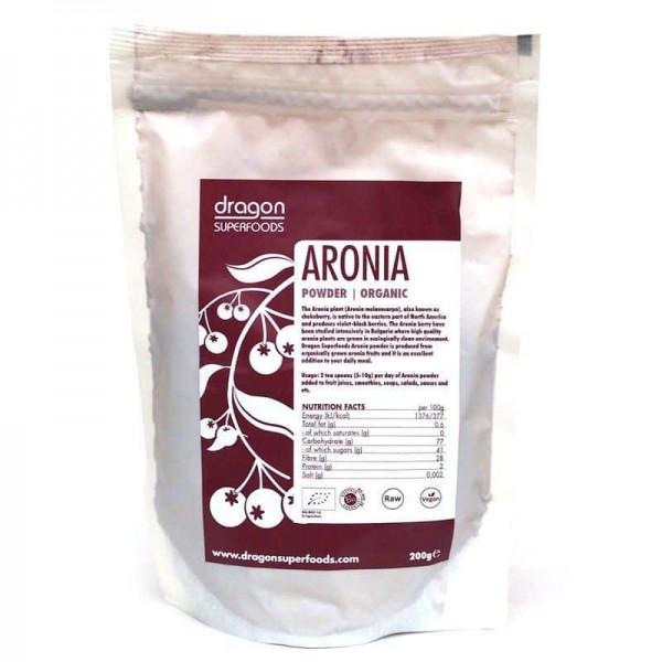 Aronia pudra raw bio 200g