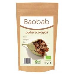 Baobab pulbere raw bio 125g