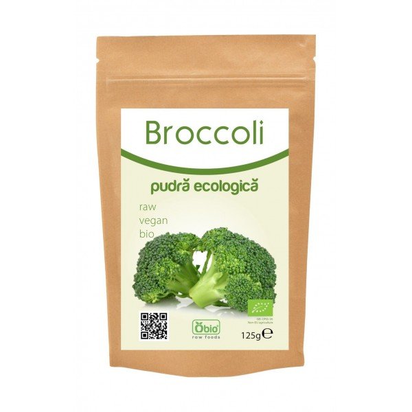 Broccoli pudra bio 125g