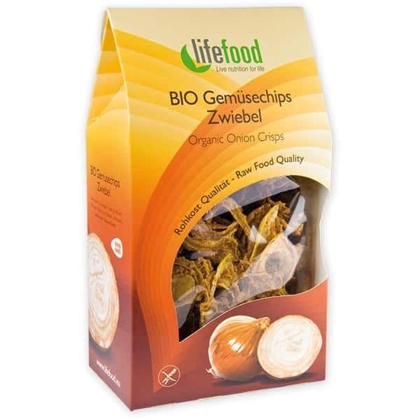 Chips din ceapa raw bio 60g