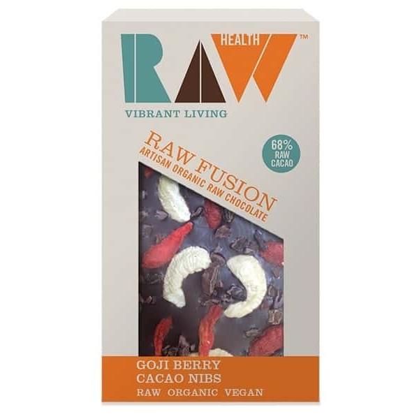 Ciocolata artizanala cu goji raw bio 30g