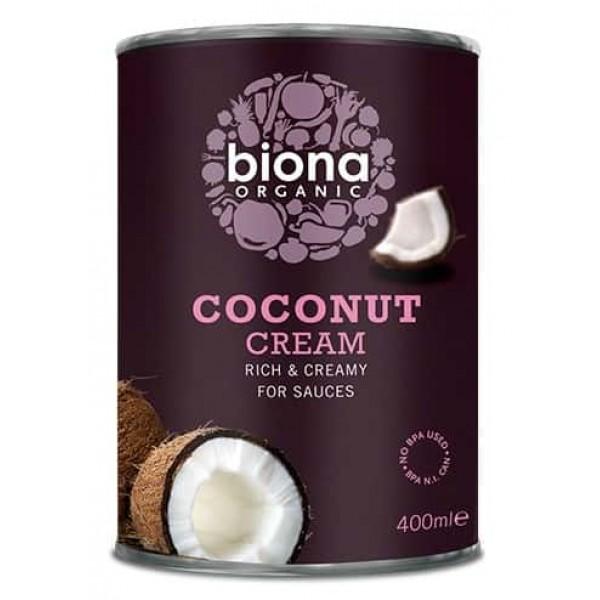 Crema de cocos cutie bio 400ml Biona