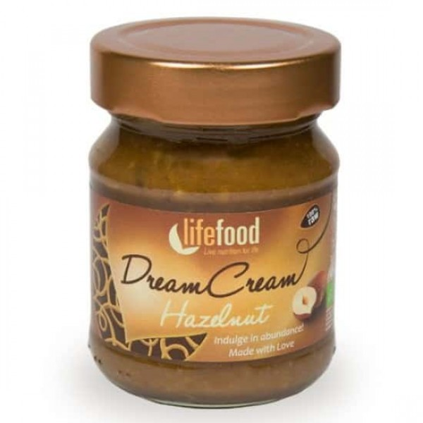 Crema raw Dream Cream cu alune bio 150g