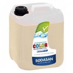Sodasan Detergent ecologic lichid pentru rufe albe si colorate 5L