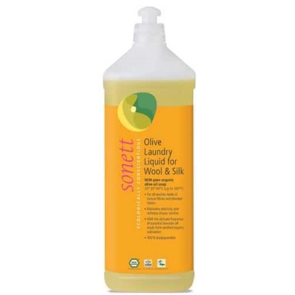 Sonett Detergent ecologic lichid pt. lana si matase 1L