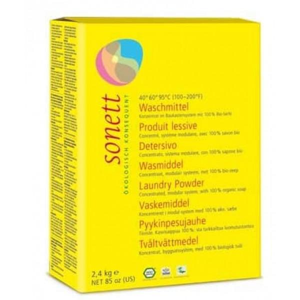 Sonett Detergent ecologic praf pt. rufe 2.4 kg