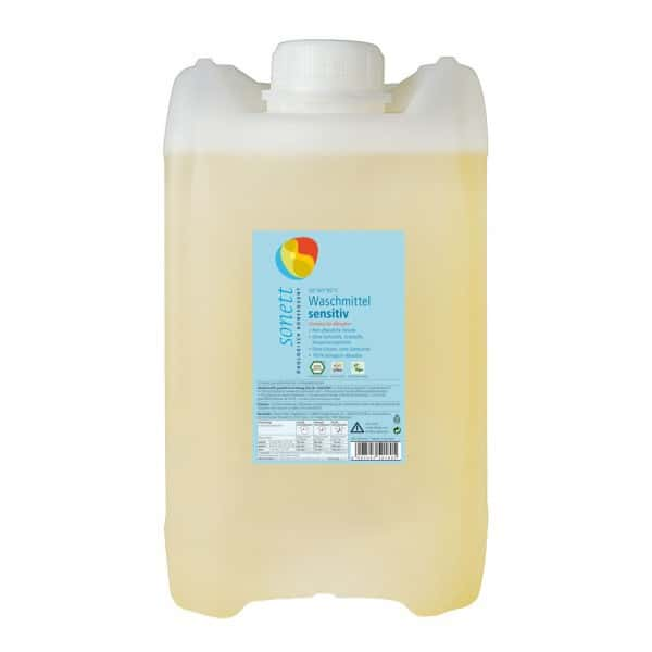 Sonett Detergent ecologic pt. rufe albe si colorate, SENSITIVE 20L