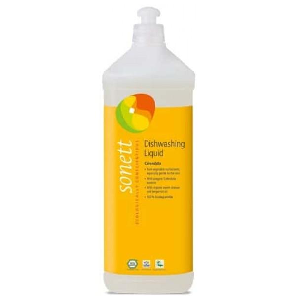 Sonett Detergent ecologic pt. spalat vase - galbenele 1L