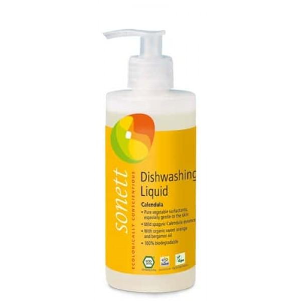 Sonett Detergent ecologic pt. spalat vase - galbenele 300ml