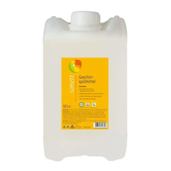 Sonett Detergent ecologic pt. spalat vase - galbenele 5L