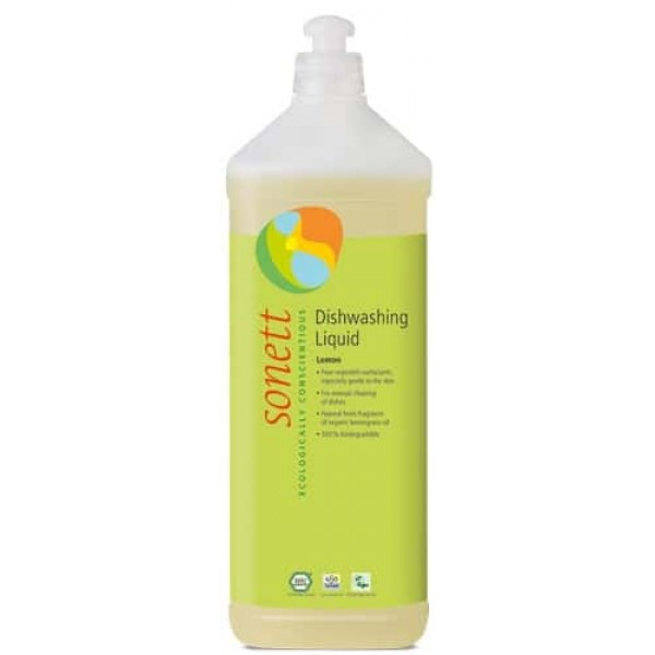 Sonett Detergent ecologic pt. spalat vase - lamaie 1L