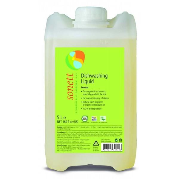 Sonett Detergent ecologic pt. spalat vase - lamaie 5L