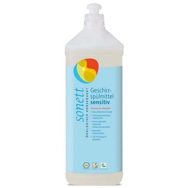 Sonett Detergent ecologic pt. spalat vase SENSITIVE 1L