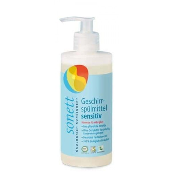 Sonett Detergent ecologic pt. spalat vase SENSITIVE 300ml