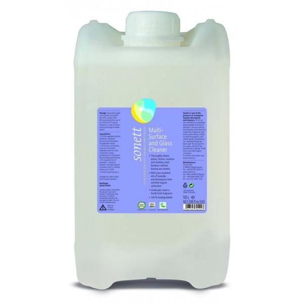 Sonett Detergent ecologic pt. sticla si alte suprafete 10L