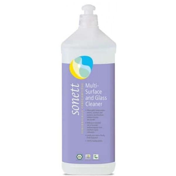 Sonett Detergent ecologic pt. sticla si alte suprafete 1L