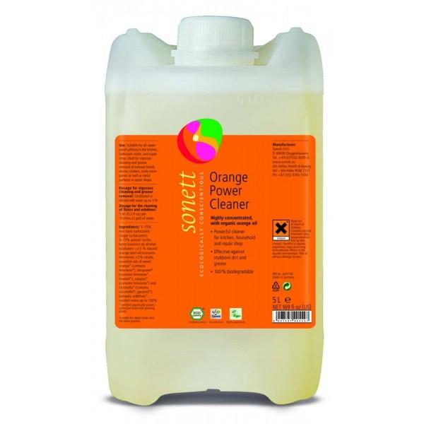 Sonett Detergent ecologic universal concentrat cu ulei de portocale 5L