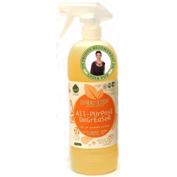 Biolù Detergent ecologic universal cu ulei de portocale 1L