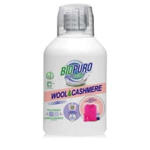 Biopuro Detergent hipoalergen pentru lâna, mătase si casmir bio 500ml