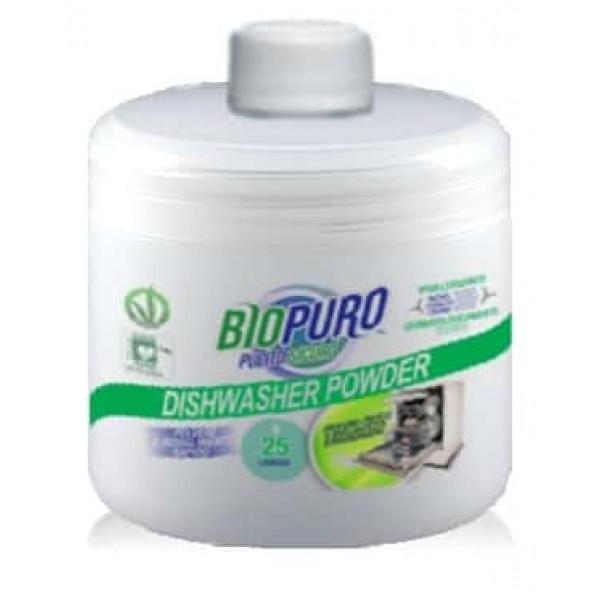 Biopuro Detergent hipoalergen praf bio pentru masină de spălat vase 500g