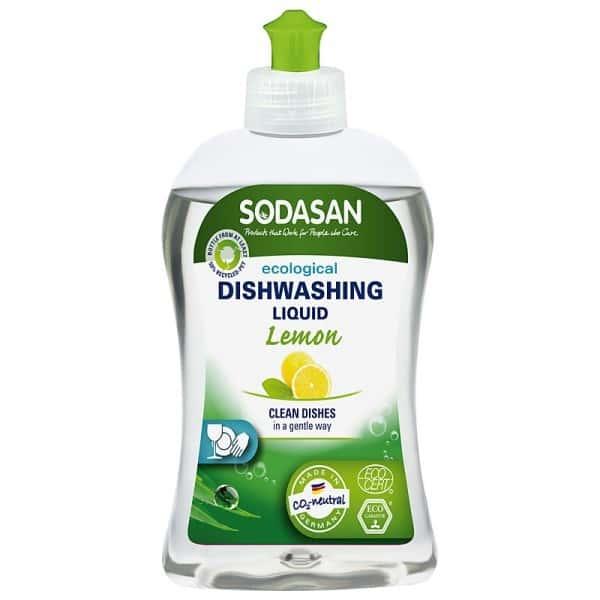Sodasan Detergent lichid ecologic pentru vase cu lamaie 500ml