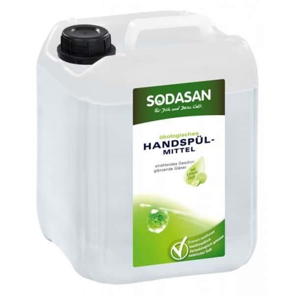Sodasan Detergent lichid ecologic pentru vase cu lamaie 5L