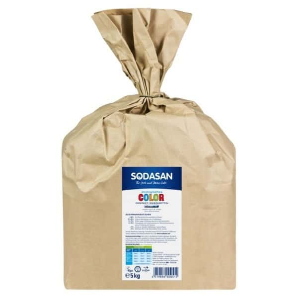 Sodasan Detergent praf ecologic compact rufe albe si colorate 5kg