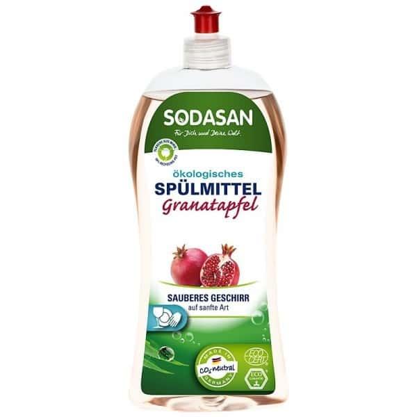 Sodasan Detergent Vase Lichid Bio Rodie 1L