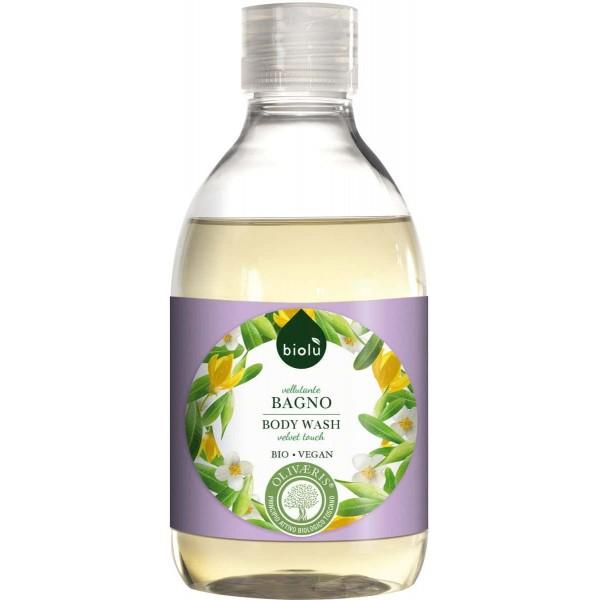 Gel de dus ecologic cu ylang ylang si vitamina E 300ml