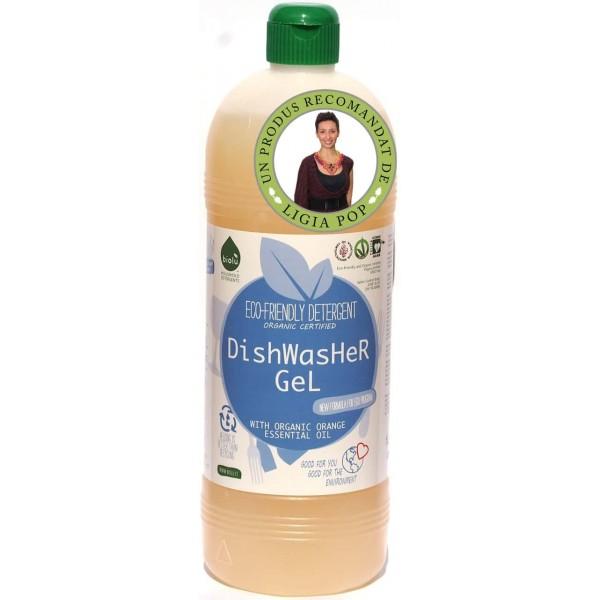Biolù Gel ecologic pentru spalat vase in masină de spălat vase 1L