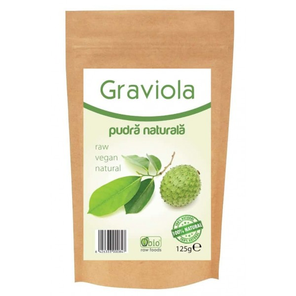 Graviola pulbere raw 125g