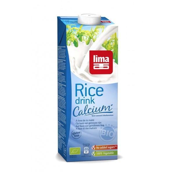 Lapte de orez cu calciu bio 1 L