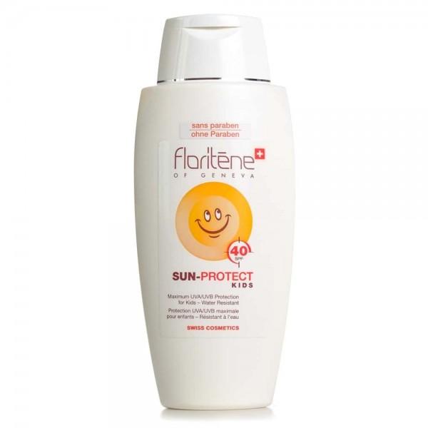 Lapte pentru fața si corp SPF +40-pentru copii