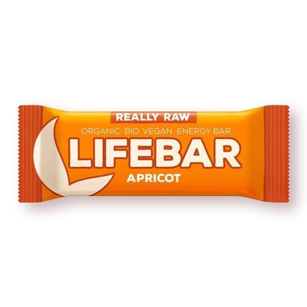 Lifebar baton cu caise raw bio 47g