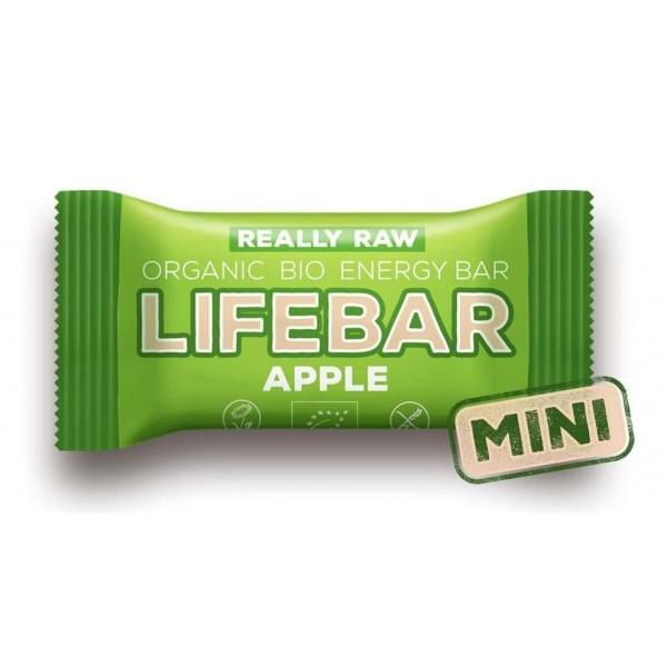 Lifebar baton cu mere raw bio 25g