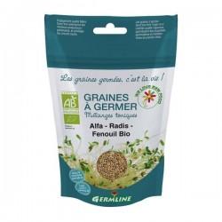 Mix alfalfa, ridiche, fenicul pt. germinat bio 150g