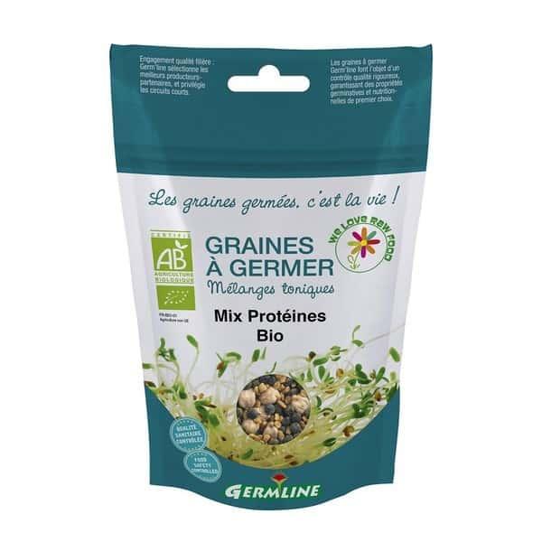 Mix proteic pt. germinat bio 200g