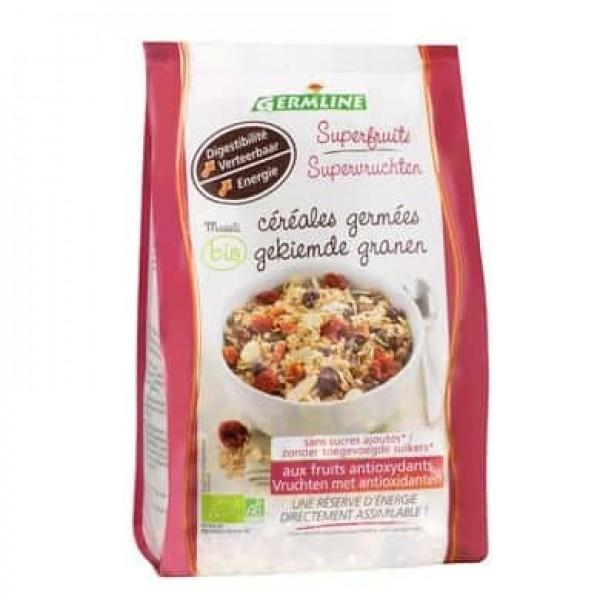 Musli din cereale germinate cu superfructe bio 350g