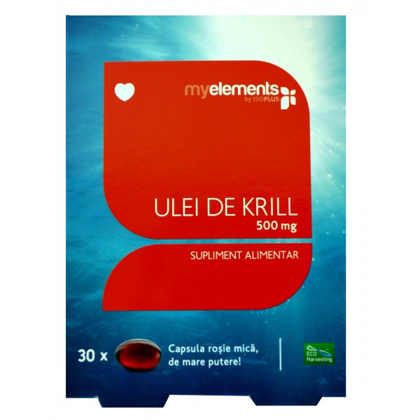 myelements Krill Omega 3 500mg 30 cps