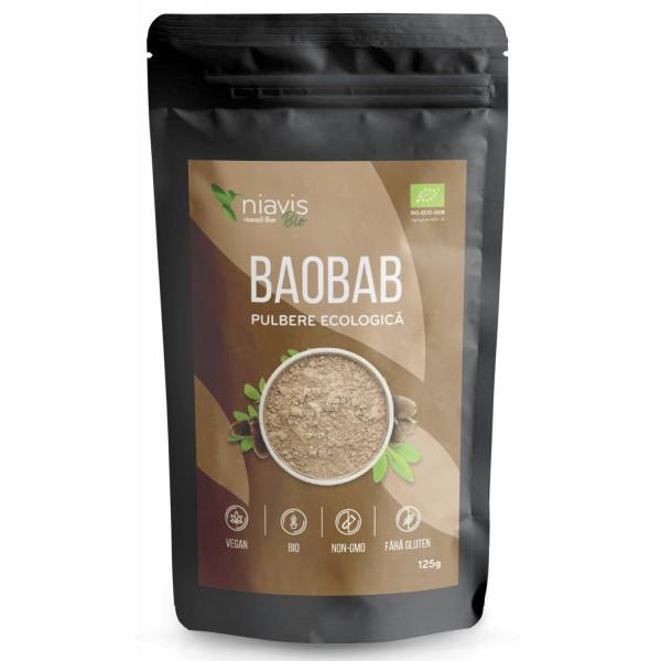 Niavis Baobab Pulbere Ecologica/Bio 125g