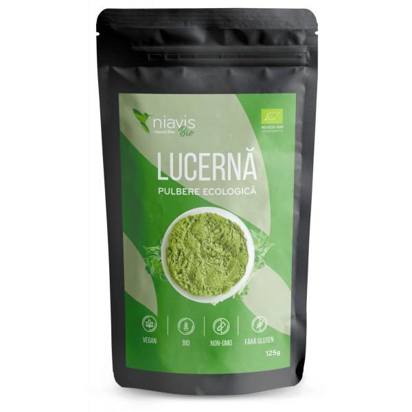Niavis Lucerna(Alfalfa) Pulbere Ecologica/Bio 125g