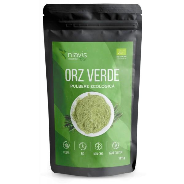Niavis Orz Verde Pulbere Organica/BIO 125g
