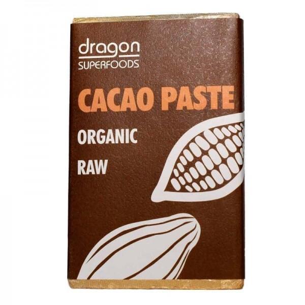 Pasta de cacao (liquor) raw bio 200g