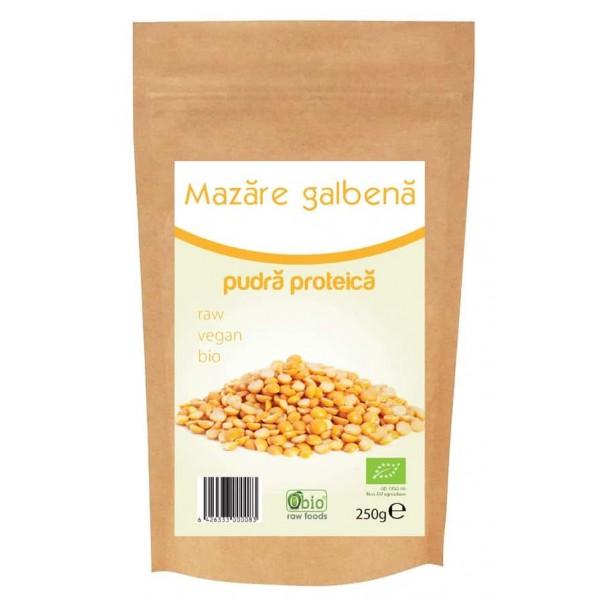 Proteina din mazare pulbere bio 250g