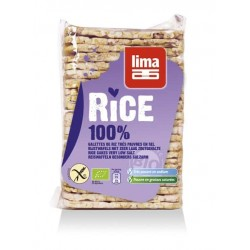 Rondele de orez expandat fara sare bio 130g