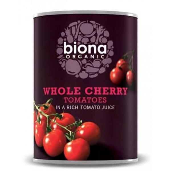 Rosii cherry la conserva bio 400g