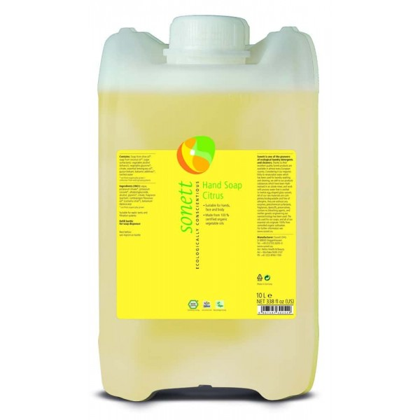 Sonett Sapun lichid ecologic Lamaie 10L