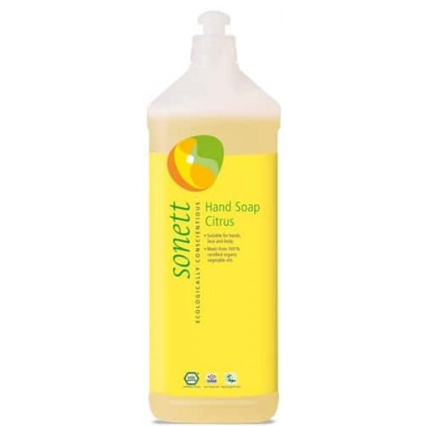 Sapun lichid ecologic Lamaie 1L, Sonett