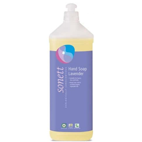 Sapun lichid ecologic Lavanda 1L, Sonett
